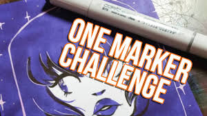 Challenge Setup One Marker Challenge Copic Setup Preview