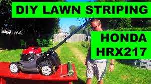 honda hrx217 type diy lawn striper for honda hrx lawn mowers