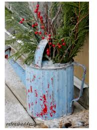 northwoods christmas christmas decor ideas pinterest buckets