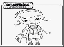 astounding doc mcstuffins coloring pages doc mcstuffin
