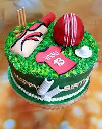 themed cakes cricket themed cake cakes by mehwish