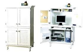 Computer Desk Armoire White Desk Armoire Computer Desk White Computer Cupboard