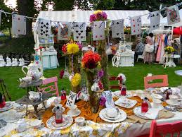 alice in wonderland table centerpiece sweet centerpieces