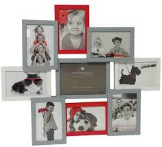 cadre photo pêle mêle mural 9 photos noir et blanc dà ania