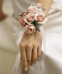 pink corsage corsage