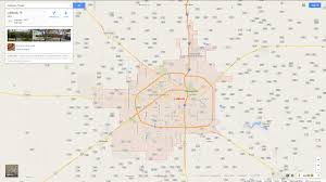Plano Tx Map Lubbock Texas Map