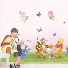 100 winnie the pooh wall murals top tips for painting a winnie the pooh wall murals cartoon pattern wall sticker children bedroom living room