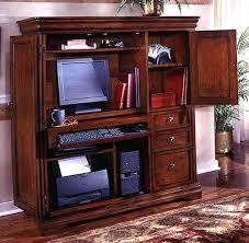 Armoire Desks Home Office Home Office Computer Desk Armoire Rue De Lyon