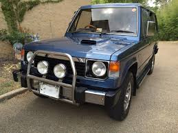 mitsubishi trucks 1990 1989 mitsubishi pajero maintenance restoration of old vintage