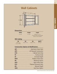 what is the depth of wall cabinets spec section wall cabinets american woodmark