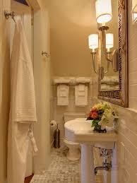 New Orleans Style Bathroom Tiny Half Bath Houzz