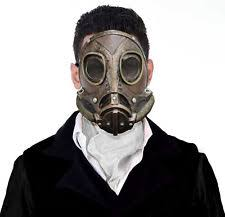 Gas Mask Halloween Costume Fancy Dress Gas Mask Ebay