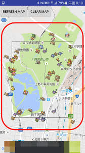 Map Of Pokemon World by Map Application