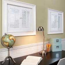 interior wood shutters home depot homebasics traditional faux wood white interior shutter price