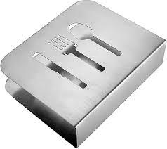 Kitchen Utensil Design by Pro Chef Kitchen Tools Stainless Steel Modern Napkin Holder Serviett