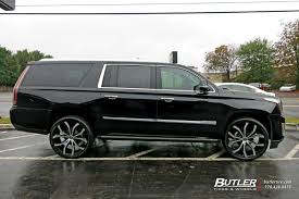 cadillac escalade custom cadillac escalade with 24in lexani lust wheels exclusively from