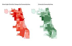 Chicago Neighborhood Crime Map by Cdot Using Data To Shine A Light On The Impact Of City Services