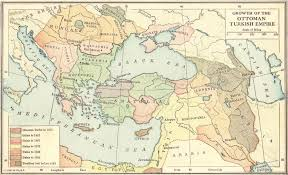 The Ottoman Turks Growth Of The Ottoman Turkish Empire 1355 1683 Map Quiz