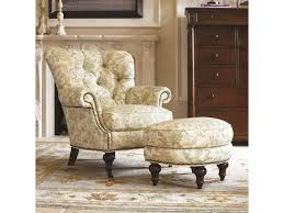 thomasville upholstered chairs and ottomans half moon vienna