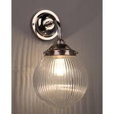 Bathroom Wall Lights Traditional Pembury Traditional Bathroom Wall Light With Glass Prismatic Globe