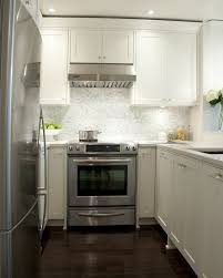 Small Kitchen With White Cabinets Small Kitchen With White Cabinets Interior Design