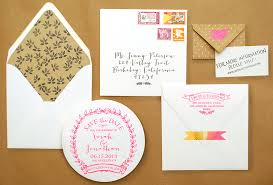 diy save the dates diy tutorial neon and kraft paper save the dates