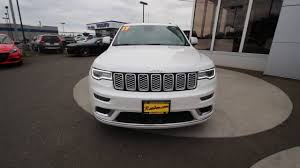 jeep summit 2017 2017 jeep grand cherokee summit ivory hc602849 mt vernon
