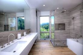 modern master bathroom ideas contemporary master bathroom with concrete tile subway images of