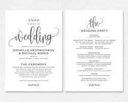 wedding invitation templates for word with stylish ornaments