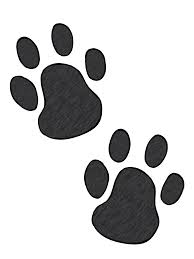 paw print tattoos on dog paw prints scroll clipart 2 clipartbarn