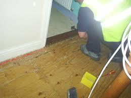 Stop Laminate Floor Creaking Pulse 2000 Security Osset Wakefield Dewsbury West Yorkshire