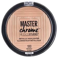 Maybelline Master Chrome maybelline studio master chrome metallic highlighter 100 molten