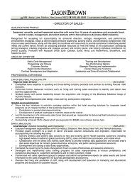 Sample Resume For Regional Sales Manager by Sales Resume Examples Resume Professional Writers