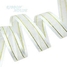organza ribbon wholesale popular gold organza ribbon buy cheap gold organza ribbon lots