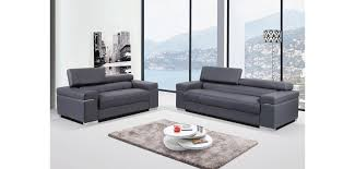 livingroom soho soho living room set in grey modern leather