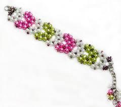 free pattern for bracelet geisha beads magic more 2 needle