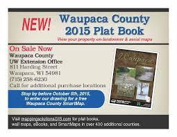 Wisconsin Gis Maps by Waupaca County Plat Book U2013 Waupaca County