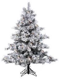 7 u0027 pre lit winter fun flocked christmas tree w multi g40 lights