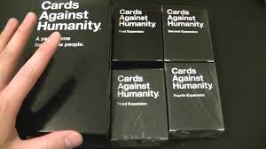 unboxing cards against humanity 3rd expansion