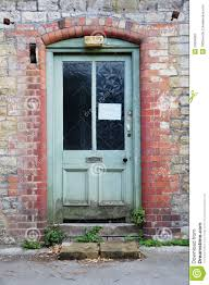 home front door derelict house front door royalty free stock photography image