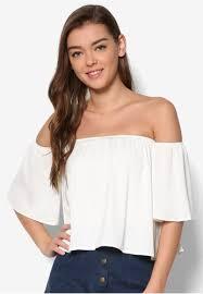 Shoulder Top - buy zalora shoulder top zalora singapore
