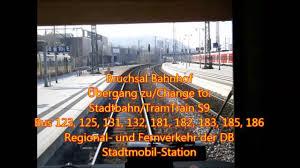 Weingarten Baden Stadtbahn Karlsruhe Linie S31 Odenheim Forbach Teil 2 7 Ubstadt