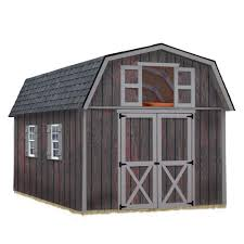 House Shed by Best Barns Wood Sheds Sheds The Home Depot