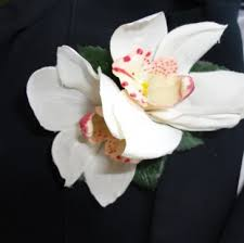 Orchid Corsage Ivory Orchid Corsage Silk Corsages Buttonholes U0026 Corsages