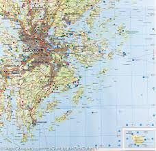 Map Sweden Map Of South Eastern Sweden Stockholm Uppsala Norrköping