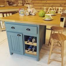 kitchen island cart with breakfast bar bespoke handmade to order oak top kitchen island breakfast bar with