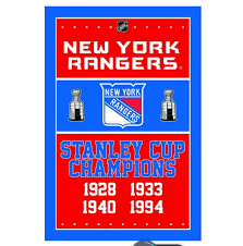New York Flag New York Rangers Stanley Cup Championship Man Cave Sports Banner