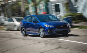 2017 subaru impreza sedan interior 2017 subaru impreza in depth model review car and driver