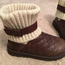 womens ugg boots size 8 41 ugg shoes ugg s cambridge quilt boots size