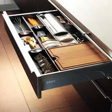 mobalpa accessoires cuisine rangements cuisine tiroirs de cuisine avec compartiments de